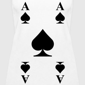 Ace of spades  Tops - Women's Premium Tank Top