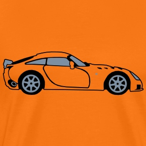 Sagaris Sports Car - Men's Premium T-Shirt