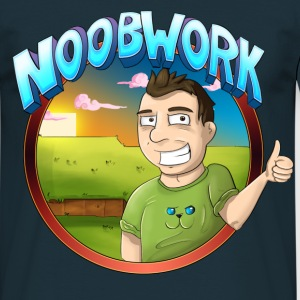Noobwork Sunset - T-skjorte for menn