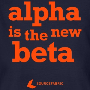 alpha is the new beta - Men's Organic T-shirt