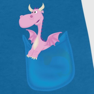 My Pocket Dragon Pal T-Shirts - Women's V-Neck T-Shirt