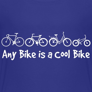 Any Bike is a Cool Bike Kids - Kids' Premium T-Shirt