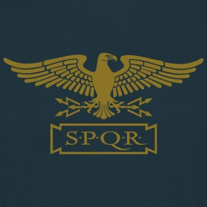 Eagle of Freedom - ROMA SPQR - Männer T-Shirt