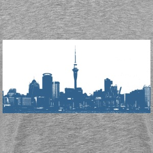 Skyline Auckland New Zealand - Männer Premium T-Shirt
