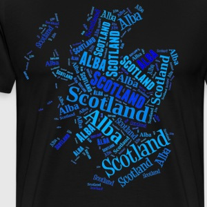 Scotland the Blue - Men's Premium T-Shirt