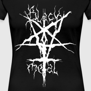 black metal - Women's Premium T-Shirt