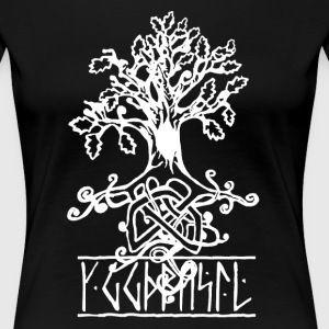 Yggdrasil- the norse tree of life - Women's Premium T-Shirt