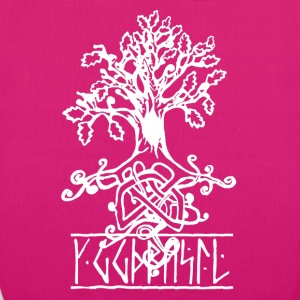 yggdrasil the norse tree of life  - EarthPositive Tote Bag