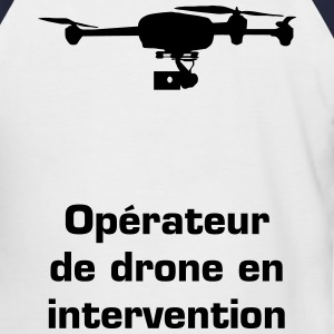 Drone telepilote Tee shirts - T-shirt baseball manches courtes Homme