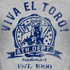 VIVA EL TORO! ATHLETIC DEPT. now on slim fit shirts - Männer Slim Fit T-Shirt