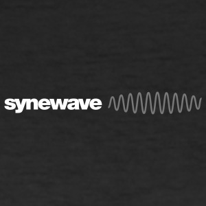 Synewave Records T-Shirt 2011 Special Series (black mini logo) - Men's Slim Fit T-Shirt