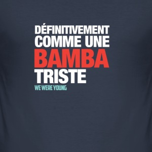 T-Shirt col rond Bamba Triste - Tee shirt près du corps Homme