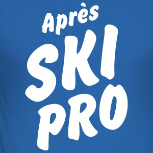 Après Ski Professional - Men's Slim Fit T-Shirt