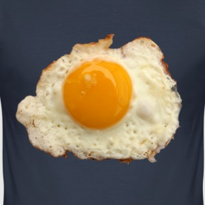 Fried egg! - Männer Slim Fit T-Shirt