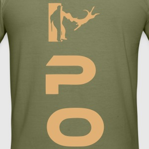 IPO T-Shirts - Männer Slim Fit T-Shirt