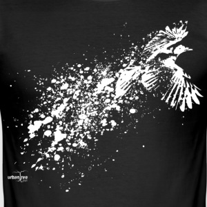 ...as the crow flies - Men's Slim Fit T-Shirt