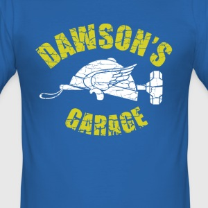 Dawson's Garage (inspired by Adventures in Babysit - Men's Slim Fit T-Shirt