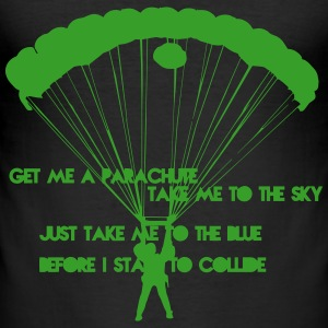 Get me a Parachute Slim Fit - Männer Slim Fit T-Shirt