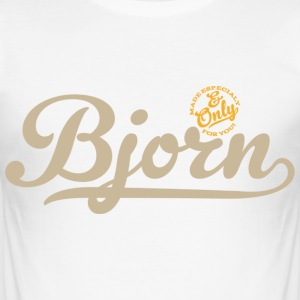Bjorn (NameShirt) - slim fit T-shirt