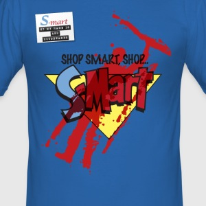 S-Mart - blood splatter (inspired by Evil Dead: Ar - Men's Slim Fit T-Shirt