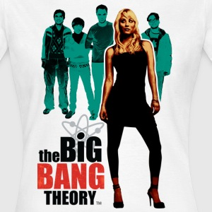 Dame T-skjorte Big Bang Theory Penny - T-skjorte for kvinner