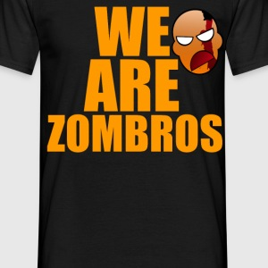 WE ARE ZOMBROS - Herre-T-shirt
