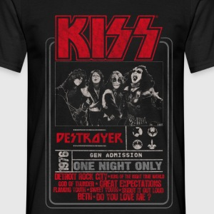 Kiss Destroyer: One Night Only  - Men's T-Shirt