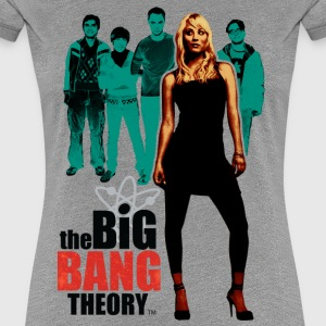 Dam T-shirt Big Bang Theory Penny - Premium-T-shirt dam