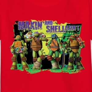 Enfant Tee Shirt TURTLES 'Shellaxin'!' - T-shirt Enfant