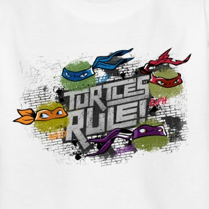 Teenage Shirt TURTLES 'Turtles rule!' - Nuorten t-paita