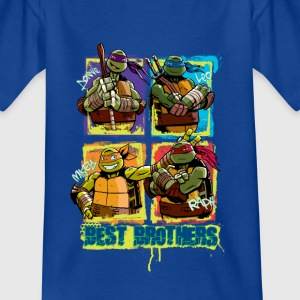 Enfant Tee Shirt TURTLES 'Best Brothers' - T-shirt Enfant