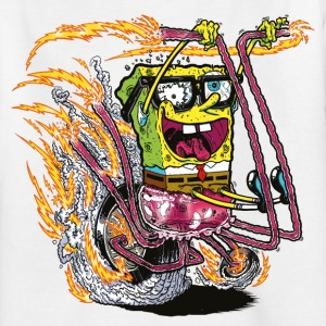 Teenagers' Shirt SpongeBob on crazy wheels - Teenager T-Shirt