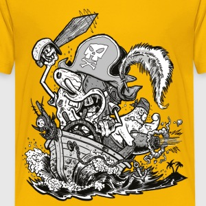 Teenagers' Premium Shirt Pirate SpongeBob - Teinien premium t-paita
