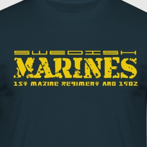Swedish marines - T-shirt herr