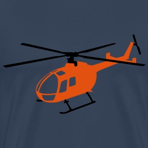 Bo-105 Orange - Männer Premium T-Shirt