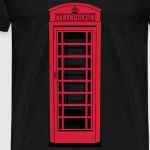 Old London Telephone Box -  Herren Premium T-Shirt - Männer Premium T-Shirt