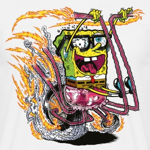 Mens' Shirt SpongeBob on crazy wheels - Men's T-Shirt