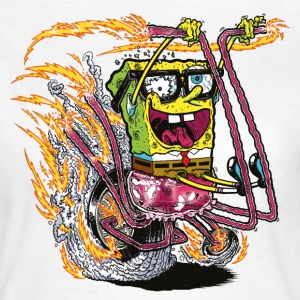 Womens' Shirt SpongeBob on crazy wheels - Women's T-Shirt