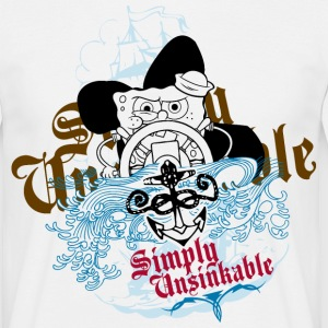 Mens' Shirt SpongeBob 'Simply Unsinkable' - Men's T-Shirt