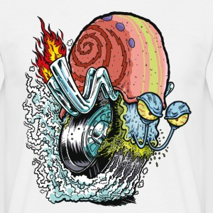 Mens' Shirt SpongeBob Snail - Men's T-Shirt