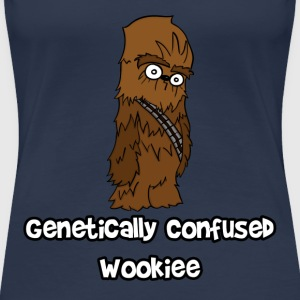 Genetically Confused Wookiee | ThereGoesLucie - Women's Premium T-Shirt