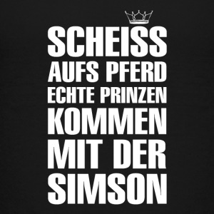 SCHEISS AUFS PFERD ... - Teenager Premium T-Shirt - Teenager Premium T-Shirt