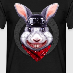 RABBIT RIDER - Men's T-Shirt