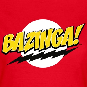 The Big Bang Theory Bazinga! vrouwen T-shit - Vrouwen T-shirt