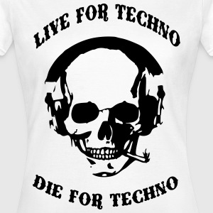 Techno Skull - Women's T-Shirt