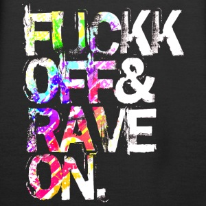 Fuckk Off & Rave On - Frauen Premium Hoodie
