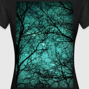 Beautiful Darkness - Half-Moon in the Trees - Frauen T-Shirt