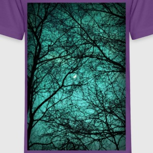 Beautiful Darkness - Half-Moon in the Trees - Kinder Premium T-Shirt