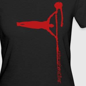 Raise your flag - red* Organic - Frauen Bio-T-Shirt