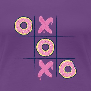 Donuts game - T-shirt Premium Femme